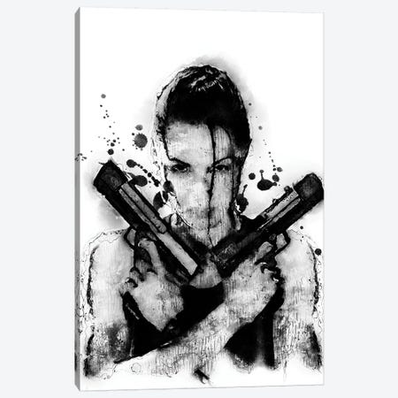 Tomb Raider Canvas Print #DUR363} by Durro Art Canvas Wall Art