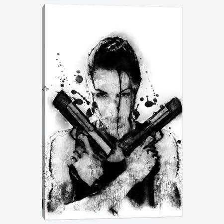 Tomb Raider Canvas Print #DUR363} by Durro Art Canvas Wall Art