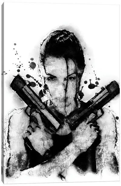 Tomb Raider Canvas Art Print