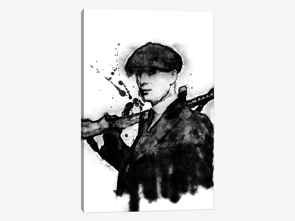 Tommy Shelby by Durro Art 1-piece Canvas Artwork