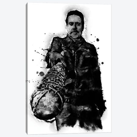 Negan Walking Dead Canvas Print #DUR365} by Durro Art Art Print