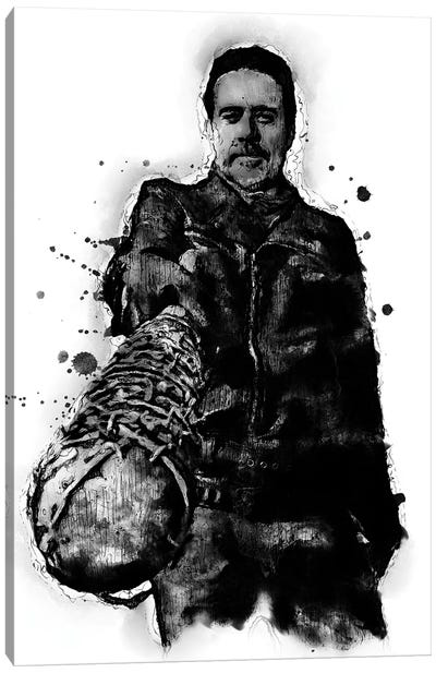 Negan Walking Dead Canvas Art Print