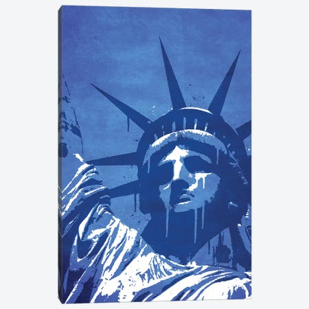 Liberty Of New York Canvas Print #DUR36} by Durro Art Canvas Wall Art