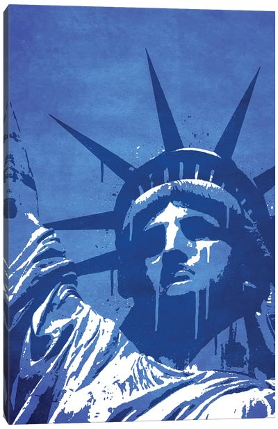 Liberty Of New York Canvas Art Print
