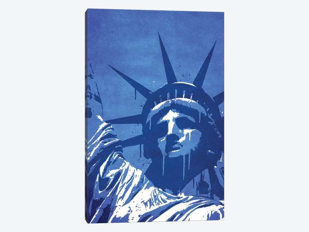 Liberty Of New York by Durro Art 1-piece Canvas Wall Art