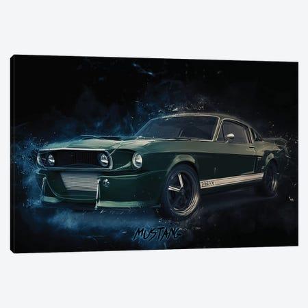 Mustang Eleanor Canvas Print #DUR370} by Durro Art Canvas Art Print