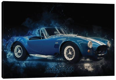 Shelby Cobra Canvas Art Print