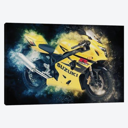 Suzuki Gsx Canvas Print #DUR377} by Durro Art Canvas Artwork