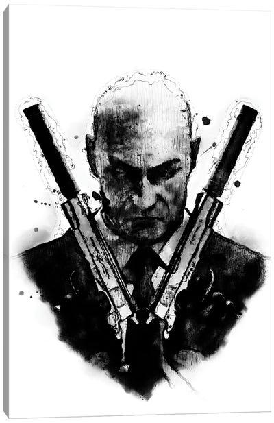 Hitman Killer Canvas Art Print
