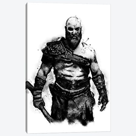 Kratos the God Canvas Print #DUR386} by Durro Art Canvas Print
