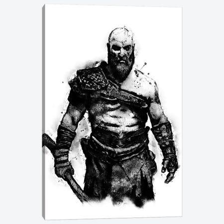 Kratos the God Canvas Print #DUR386} by Durro Art Canvas Print