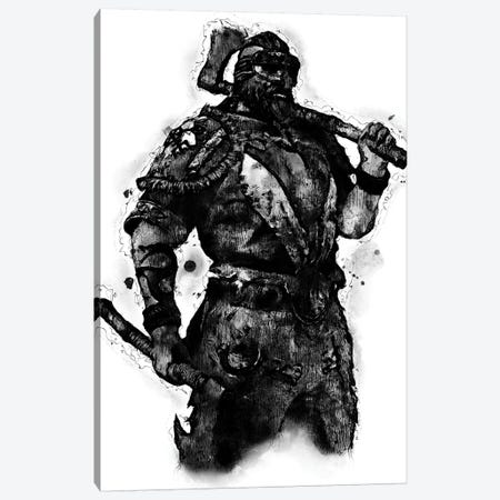 Berserker Canvas Print #DUR391} by Durro Art Canvas Art Print