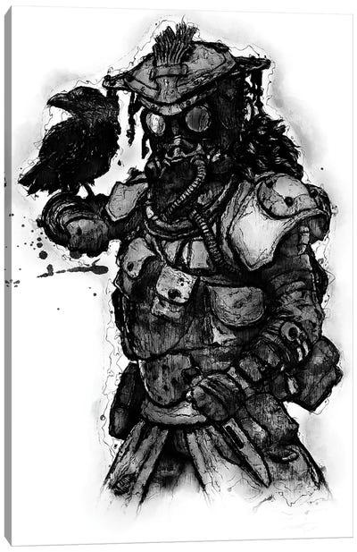 Bloodhound Apex Canvas Art Print