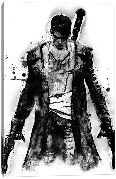 Dante Devil May Cry I by Durro Art Canvas Art Print