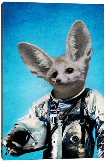 Captain Fennec Canvas Art Print