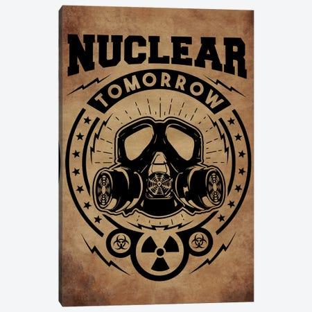 Nuclear Tomorrow Vintage Canvas Print #DUR40} by Durro Art Canvas Wall Art