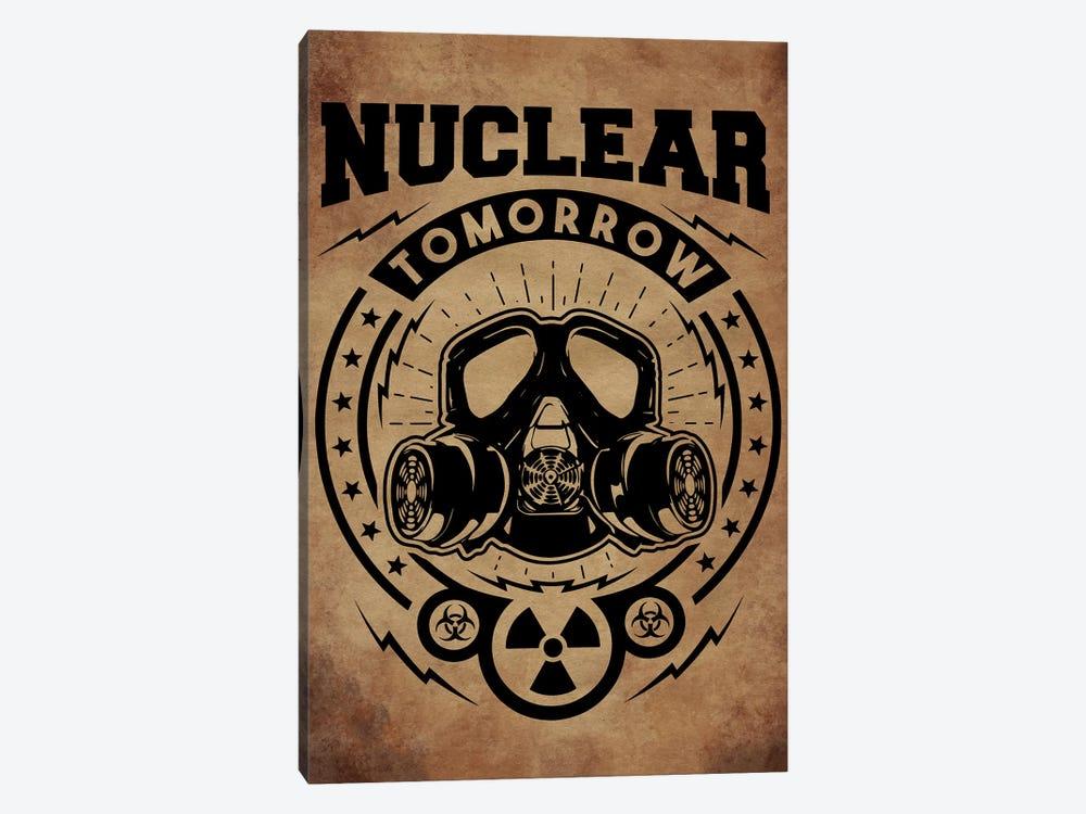 Nuclear Tomorrow Vintage by Durro Art 1-piece Canvas Print