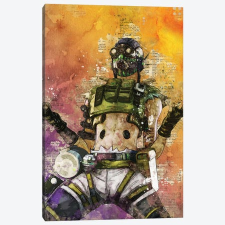 Octane Canvas Print #DUR413} by Durro Art Canvas Wall Art