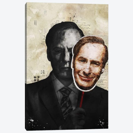 Better Call Saul Watercolor Canvas Print #DUR428} by Durro Art Art Print