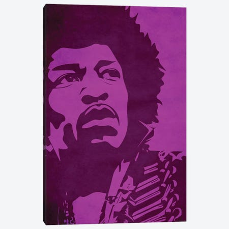 Purple Haze 3-Piece Canvas #DUR42} by Durro Art Canvas Art
