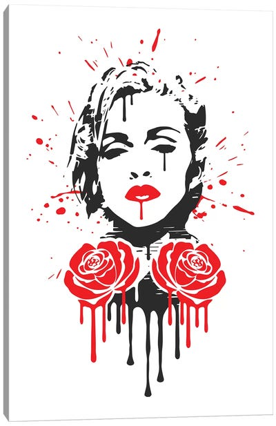 Rebel Heart Canvas Art Print