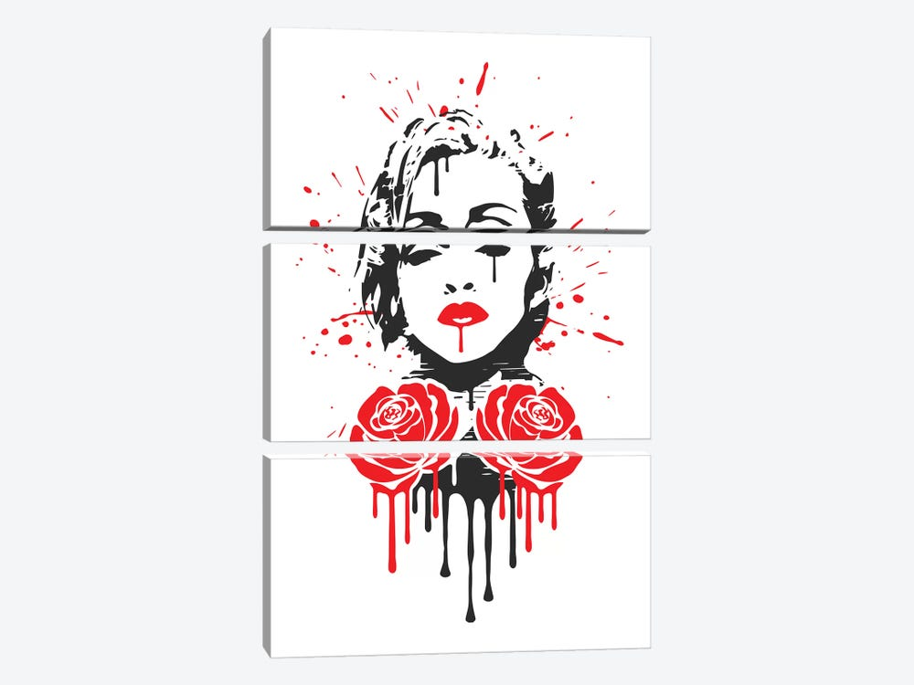 Rebel Heart by Durro Art 3-piece Canvas Art