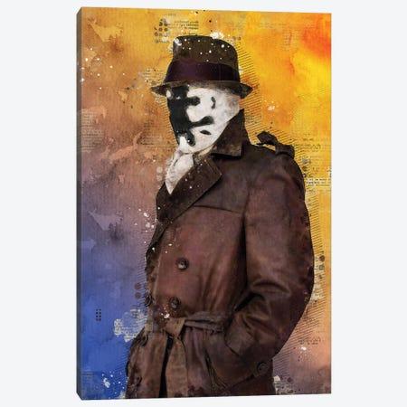 Rorschach Watercolor Canvas Print #DUR444} by Durro Art Canvas Artwork