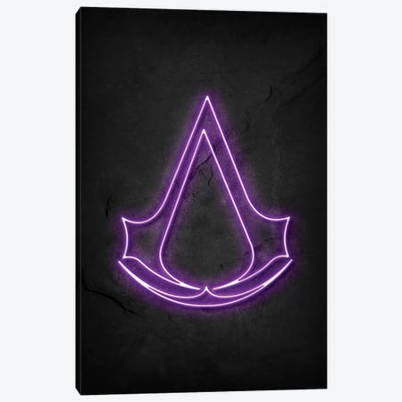 Assassins Creed Canvas Print #DUR461} by Durro Art Art Print
