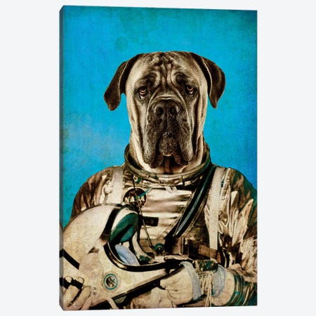 Space Traveler Canvas Print #DUR46} by Durro Art Canvas Print