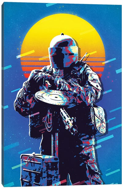 Tachanka Retro Canvas Art Print