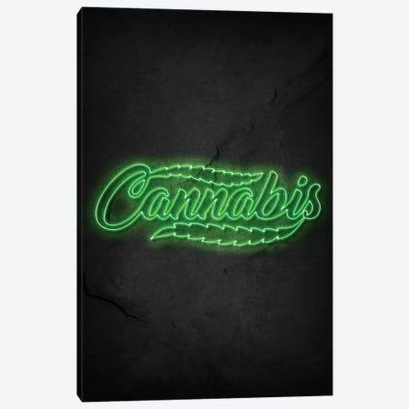 Cannabis Canvas Print #DUR495} by Durro Art Art Print