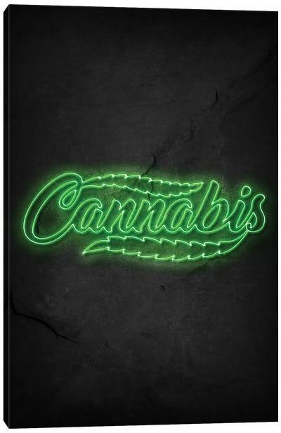 Cannabis Canvas Art Print