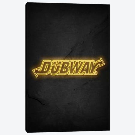 Dubway Canvas Print #DUR498} by Durro Art Canvas Wall Art