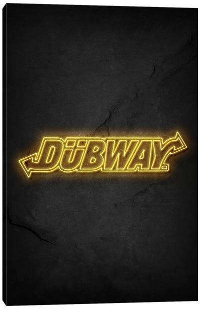 Dubway Canvas Art Print