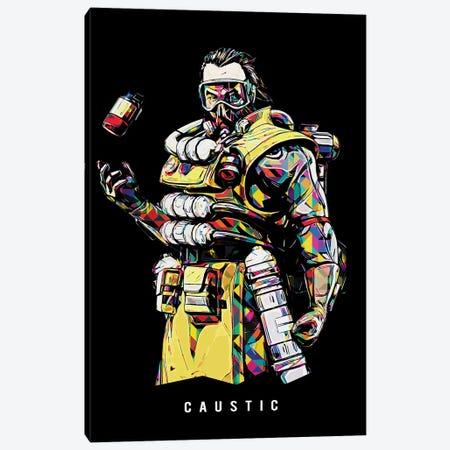 Caustic Wpap Canvas Print #DUR511} by Durro Art Canvas Print