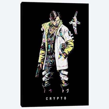 Crypto Wpap Canvas Print #DUR512} by Durro Art Canvas Print