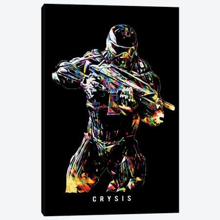 Crysis Wpap Canvas Print #DUR513} by Durro Art Art Print