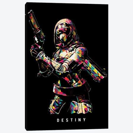 Destiny Wpap Canvas Print #DUR517} by Durro Art Canvas Artwork