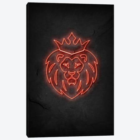 Lion King Canvas Print #DUR526} by Durro Art Art Print