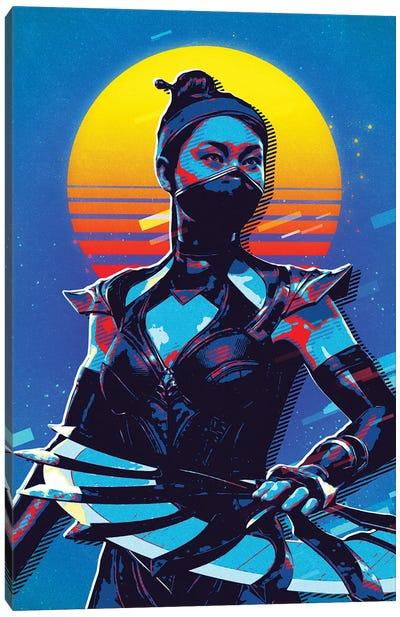 Kitana Retro Canvas Art Print
