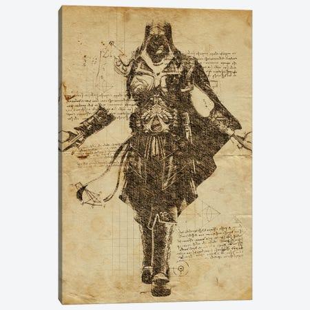 Creed DaVinci Canvas Print #DUR553} by Durro Art Art Print