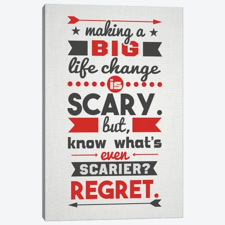 Life Change Canvas Print #DUR55} by Durro Art Canvas Artwork