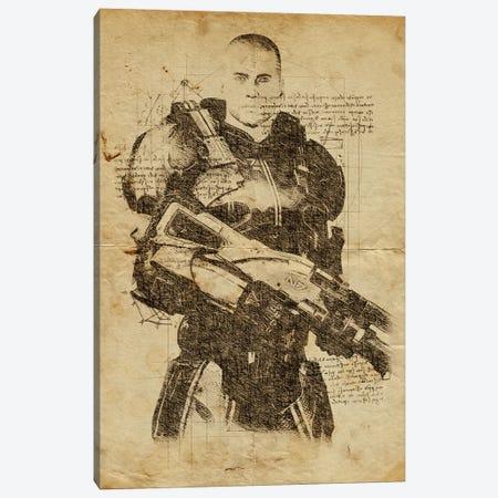 Mass Effect DaVinci Canvas Print #DUR562} by Durro Art Canvas Artwork