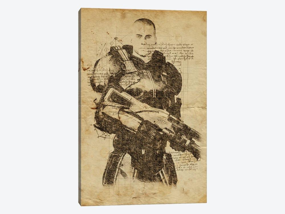 Mass Effect DaVinci by Durro Art 1-piece Canvas Art