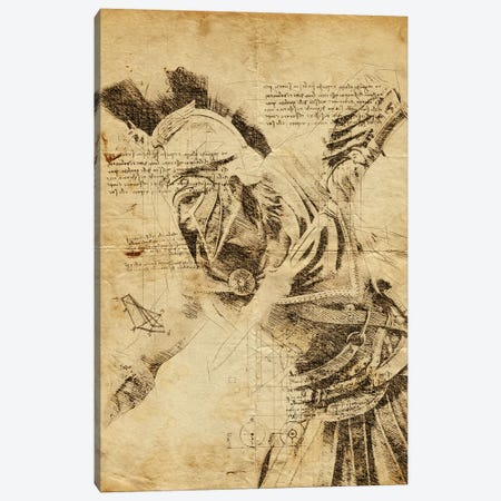 Odyssey DaVinci Canvas Print #DUR564} by Durro Art Canvas Art Print