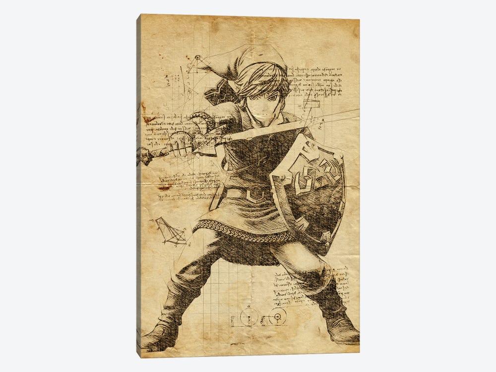 Link DaVinci by Durro Art 1-piece Canvas Art Print