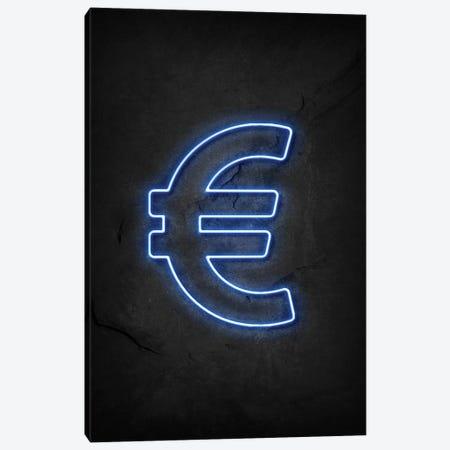 Euro Neon Canvas Print #DUR582} by Durro Art Canvas Art