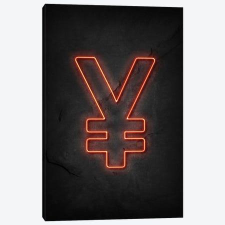 Yen Neon Canvas Print #DUR584} by Durro Art Art Print