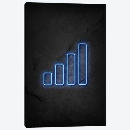 Mobile Signal Neon Canvas Print #DUR602} by Durro Art Canvas Art Print