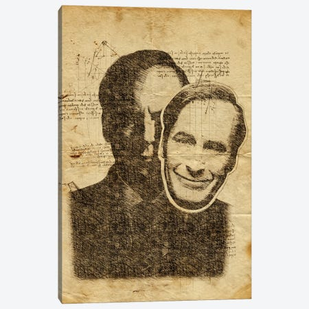 Better Call Saul Davinci Canvas Print #DUR606} by Durro Art Canvas Art